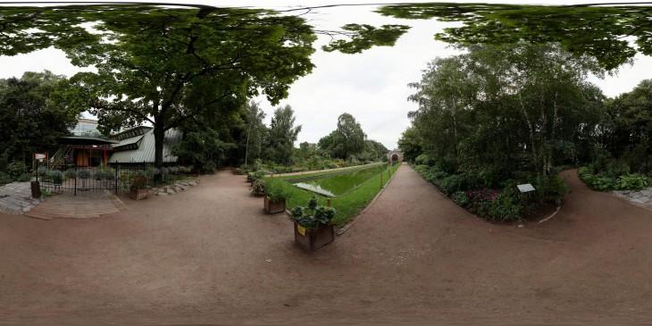 Аптекарский огород, вход