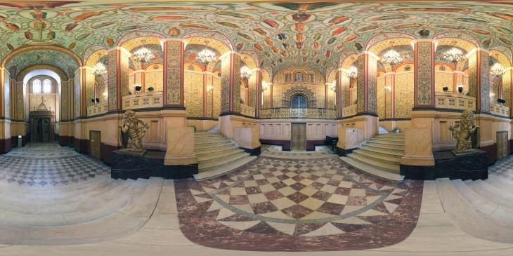 Государственный исторический музей, холл
