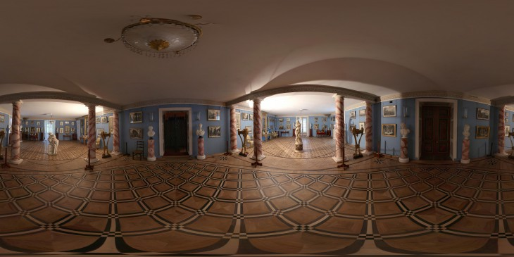 Усадьба останкино, гравюрная комната